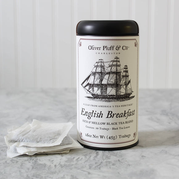 English Breakfast Teabags in Signature Tea Tin