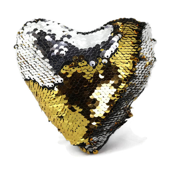 sequin heart fidget
