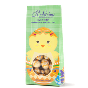 Italian Foiled Caramel Milk Chocolate Eggs 4oz.