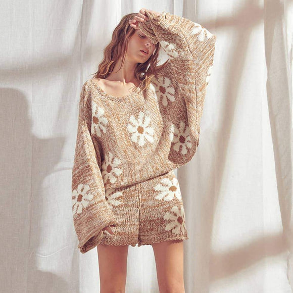 Daisy Brown Sweater