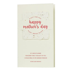 Happy Mother's Day Wildflower Mix Card
