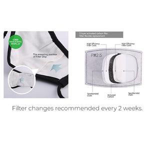Chic Cloth Filter Masks