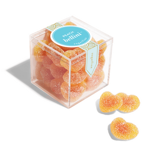 Sugarfina Peach Bellini Gummies Candy Cube