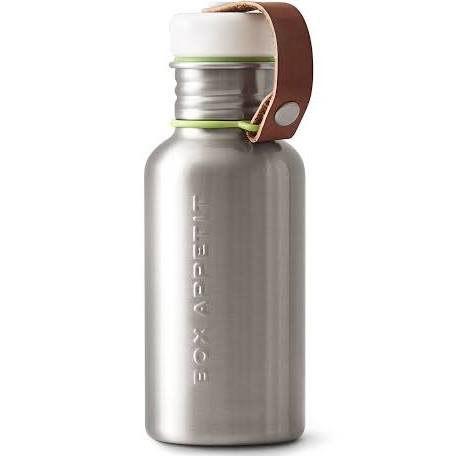 Stainless Steel + Lime Water Bottle