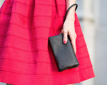 Load image into Gallery viewer, Vegan Leather Wristlet Clutch
