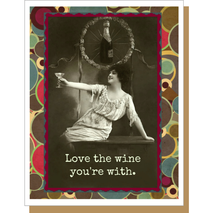 Love The Wine Card