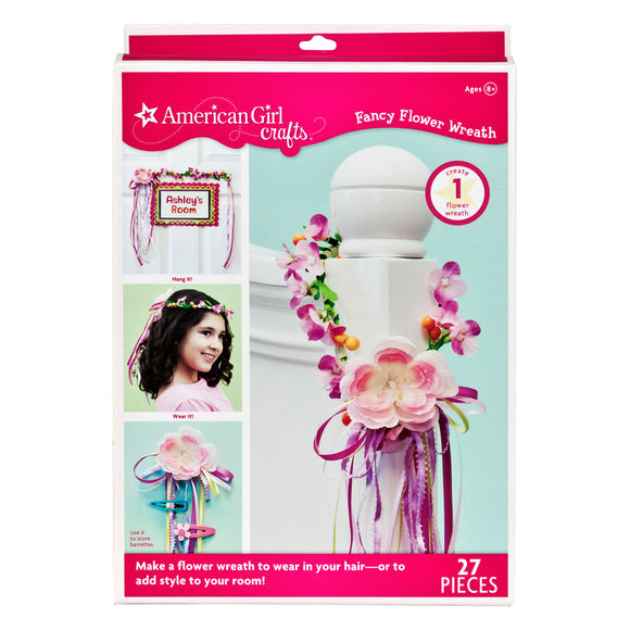 Fancy Flower Wreath Kit