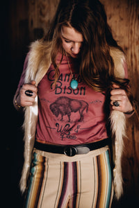 American Bison Wild & Free Tee