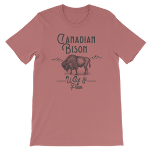 Canadian Bison Wild & Free Tee