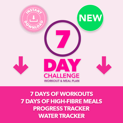 Boombod 7 Day Challenge Workout & Meal Plan