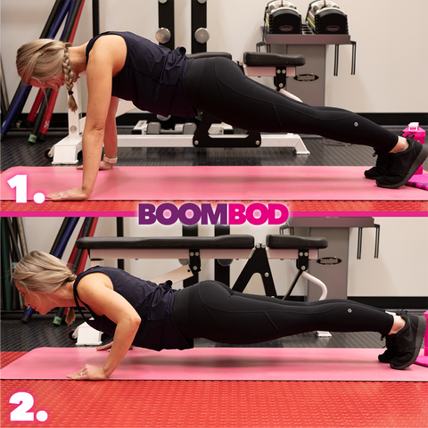 boombod 4 minute workout - pushups