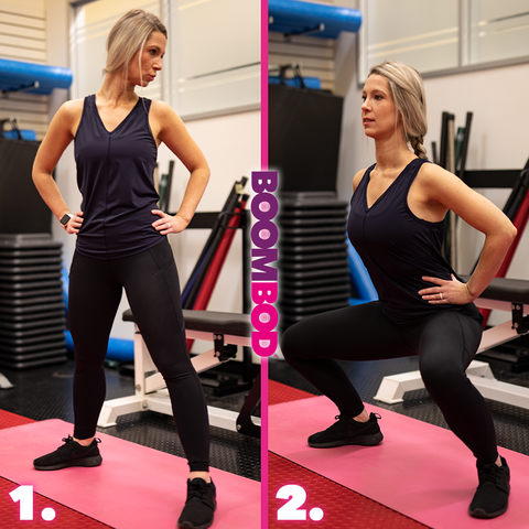 boombod 4 minute workout sumo squats