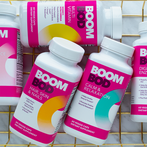 Boombod Vitamins and Supplements