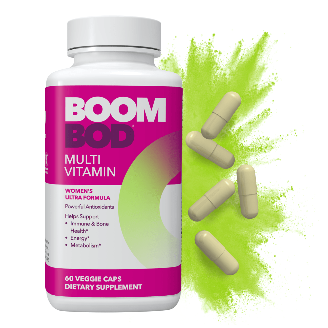Boombod | Multi Vitamin Supplement | 30 Day | 60 Count