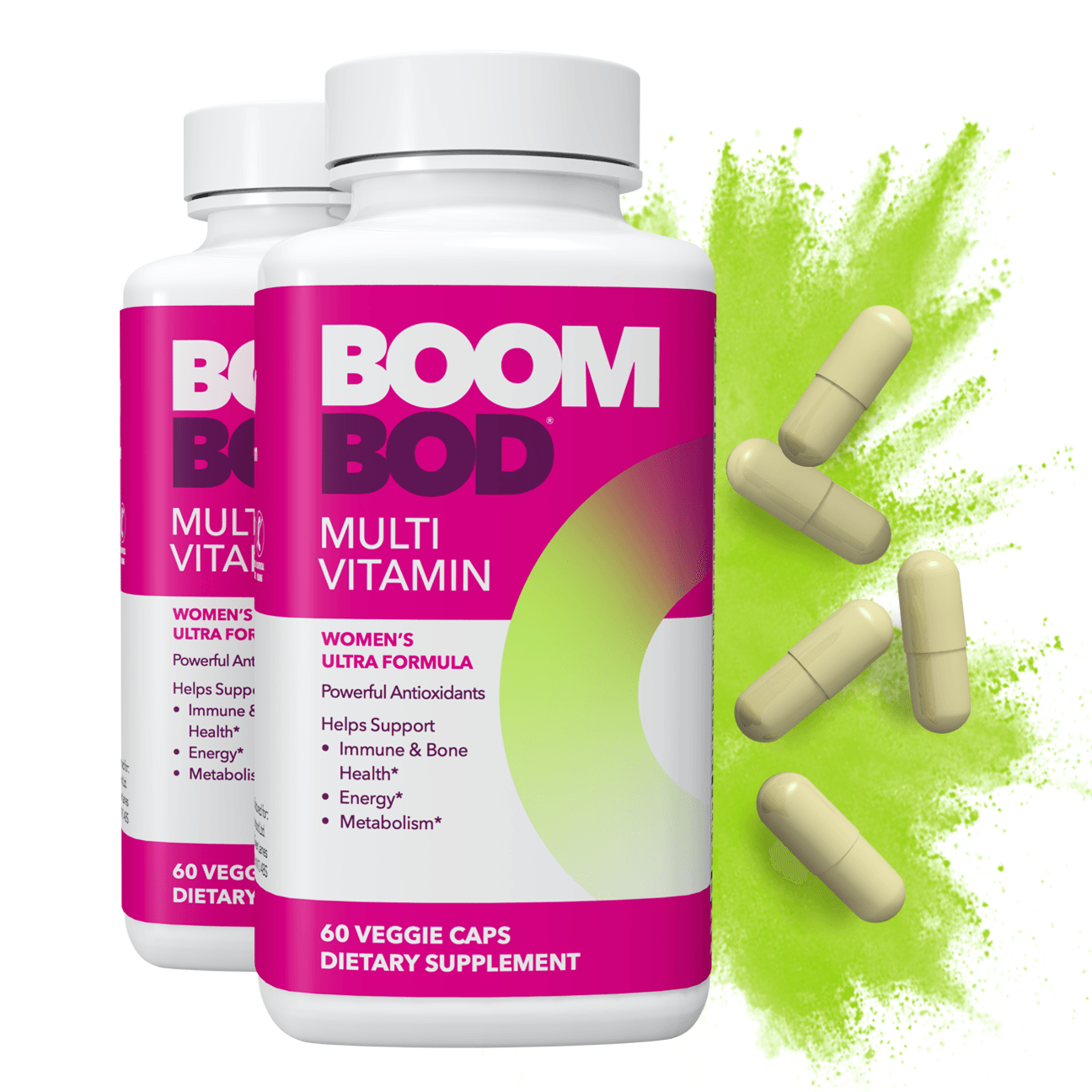 Boombod | Multi Vitamin Supplement | 60 Day | 120 Count