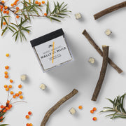 Liquorice with Sea Buckthorn, cube