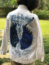 Copy of Copy of Hand painted denim jacket