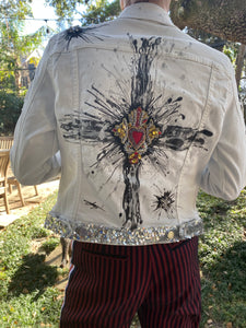 Hand-painted Denim Jacket