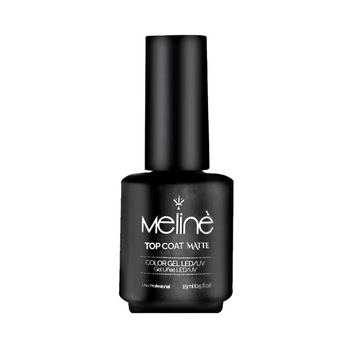 MELINÉ ESMALTE SEMIP.GEL LED/UV X 15 ML-TOP COAT MATTE