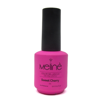 MELINÉ ESMALTE SEMIP.GEL LED/UV X 15 ML-125 SWEET CHERRY