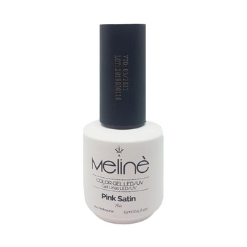 MELINÉ ESMALTE SEMIP.GEL LED/UV X 15 ML-764 PINK SATIN