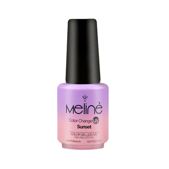 MELINÉ ESMALTE SEMIP.GEL LED/UV X 15 ML-CHANGE SUNSET