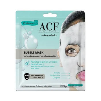 ACF MASCARA FACIAL BUBBLE X 14 GR