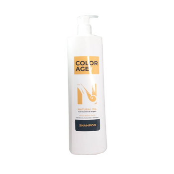 COLOR AGE SHAMPOO NATURAL OIL X 1000 ML