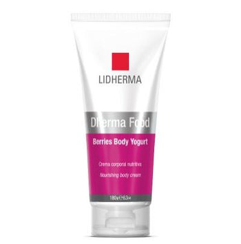 LIDHERMA DHERMA FOOD BERRIES BODY YOGURT X 180 G