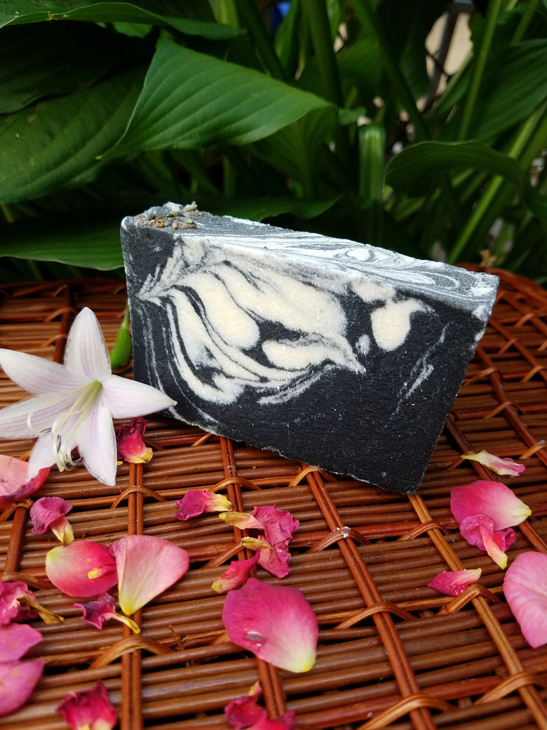ACTIVATED CHARCOAL SOAP - Club Serenity