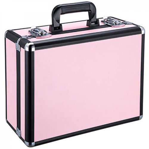 Professional make-up beauty case pink