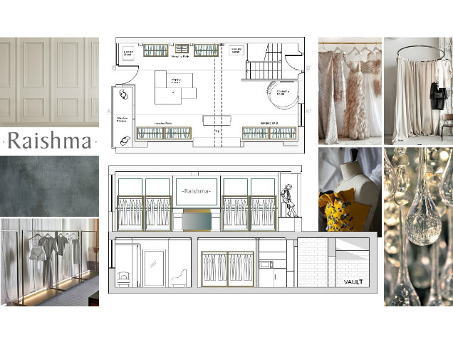New Store Mood Board