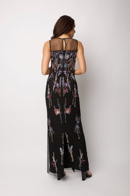 Black Evelyn Gown