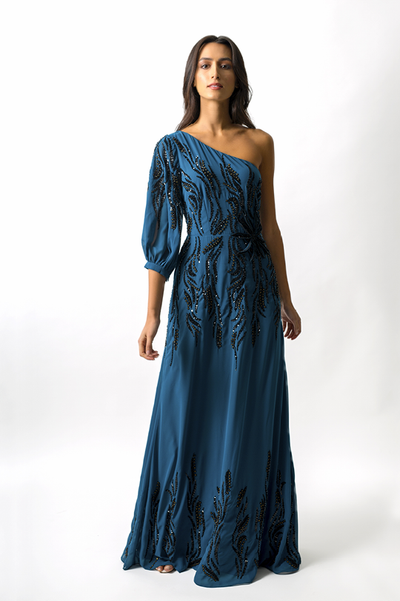 Blue Elvina Gown