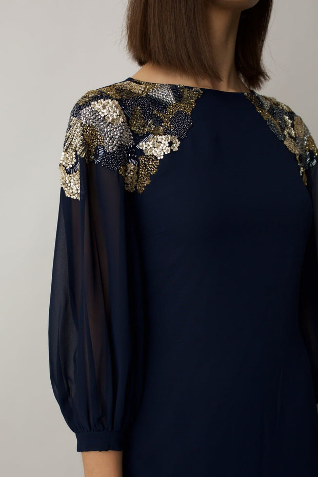 Navy Luna Dress