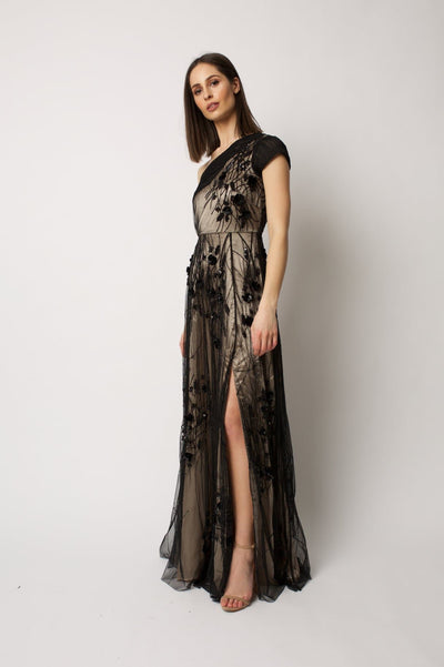 Black Alena Gown