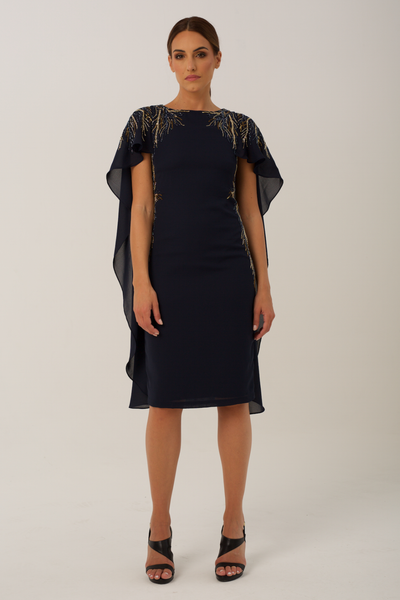 Navy Eva Dress