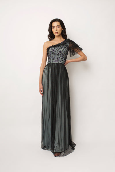 Black Gloria Gown