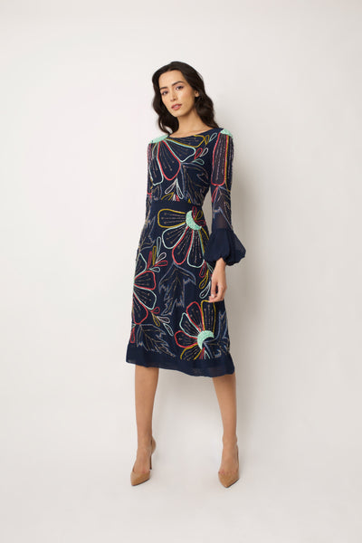 Navy Alison Dress