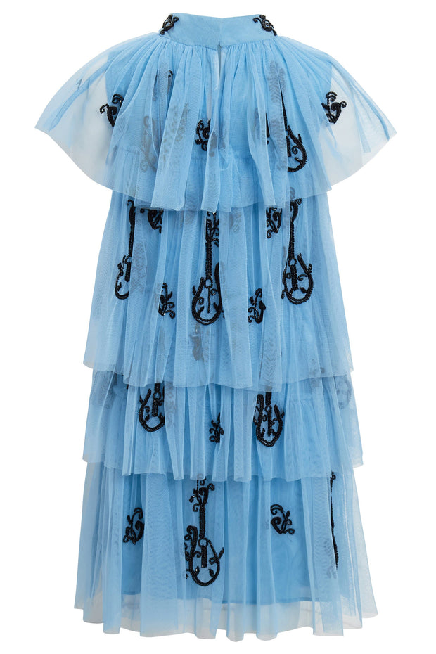 Blue Valerie Dress