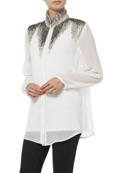 Embellished Detailed Shirt