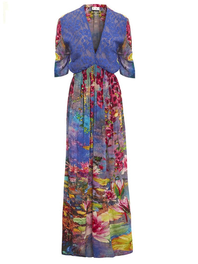 Lotus Sunrise Kaftan Dress