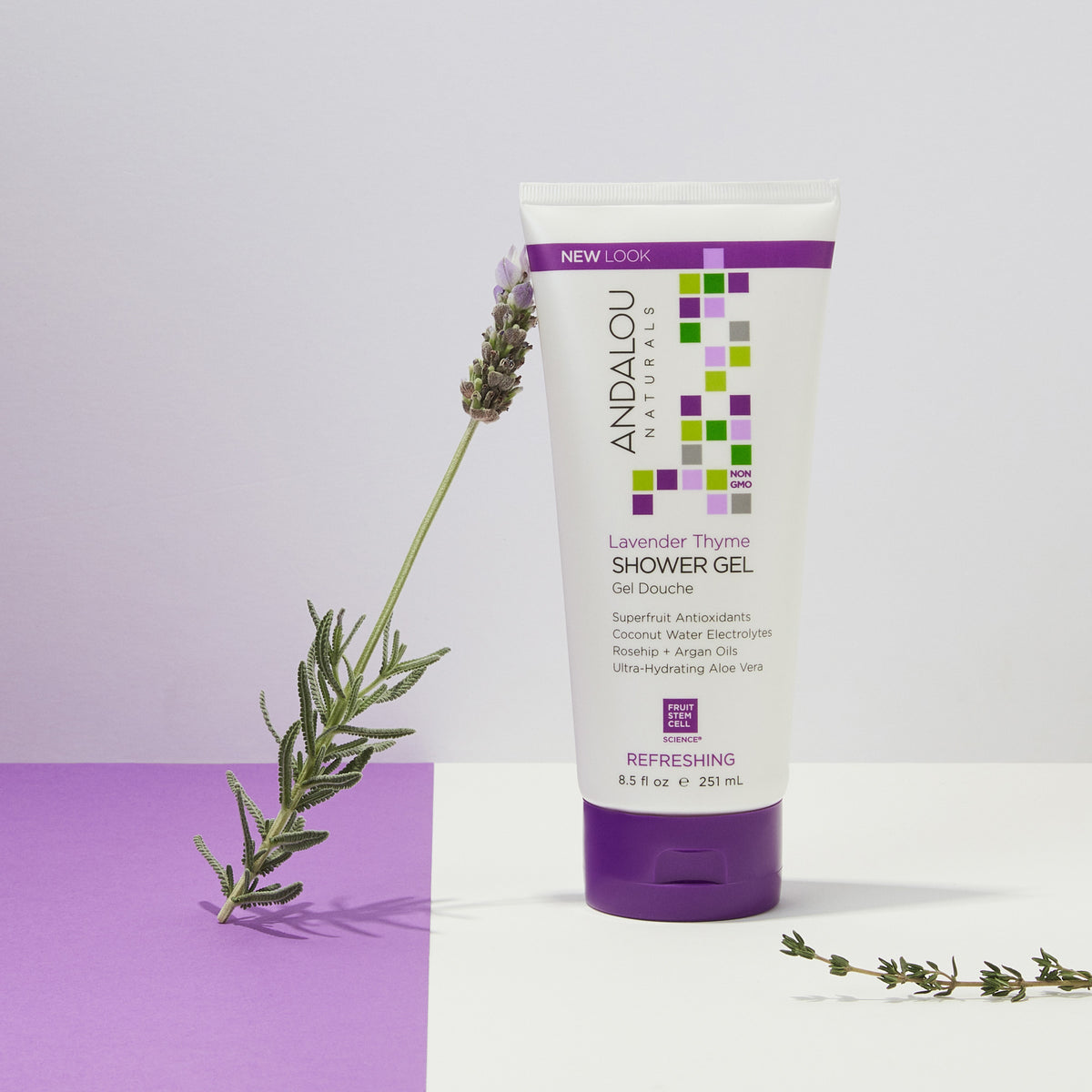 Lavender Thyme Refreshing Shower Gel