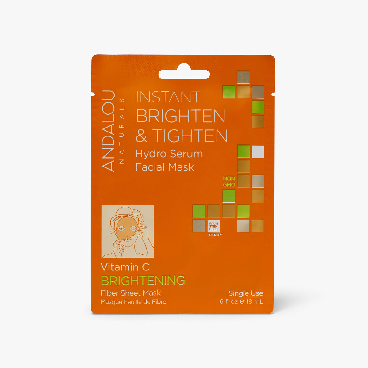 Instant Brighten & Tighten Hydro Serum Facial Sheet Mask