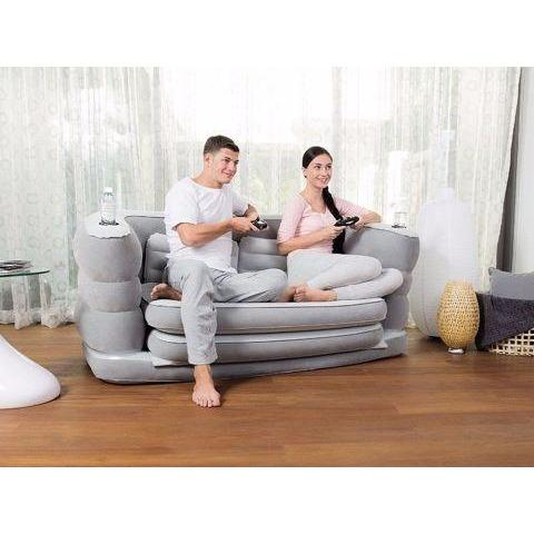 Air Sofa Bed Dual Leather - dreamtoys