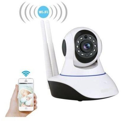 Dual Antenna Wi-Fi Wireless Surveillance Camera - dreamtoys