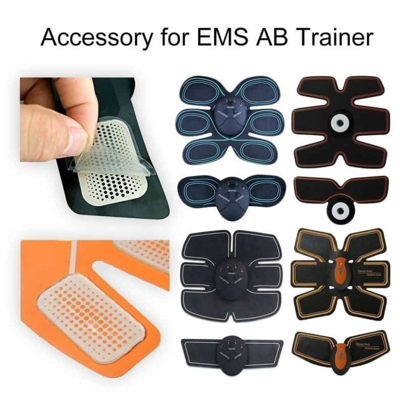 50Pc Replacement Gel Sheet Pad For EMS Muscle Toning Belt Training ABS Fitness