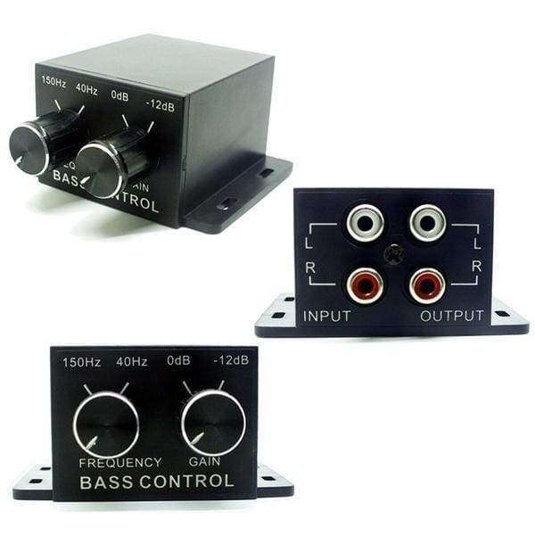 Amplifier Video Loudspeaker Bass Subwoofer Controller Car Audio Regulator