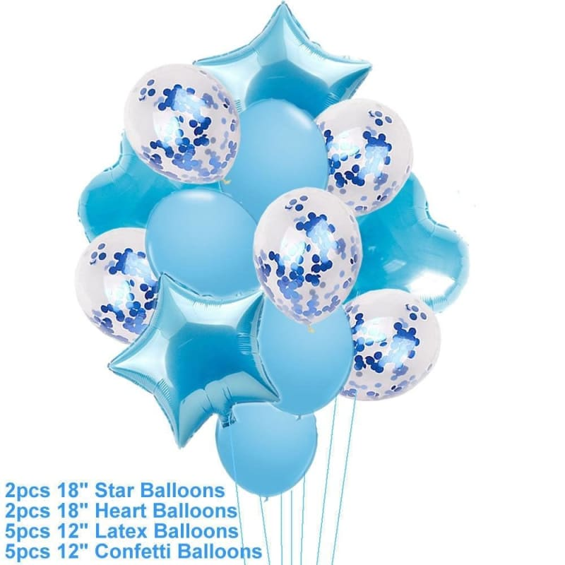 12/'/' Latex Helium balloons Baby Shower Boy Girl Blue Pink Party 20 pcs Decor