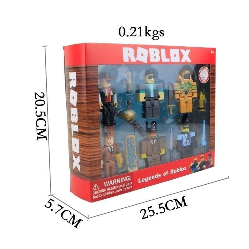 Virtual World Roblox Building Block Doll With Accessories Two